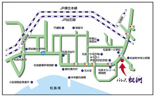 パレス松洲マップ
