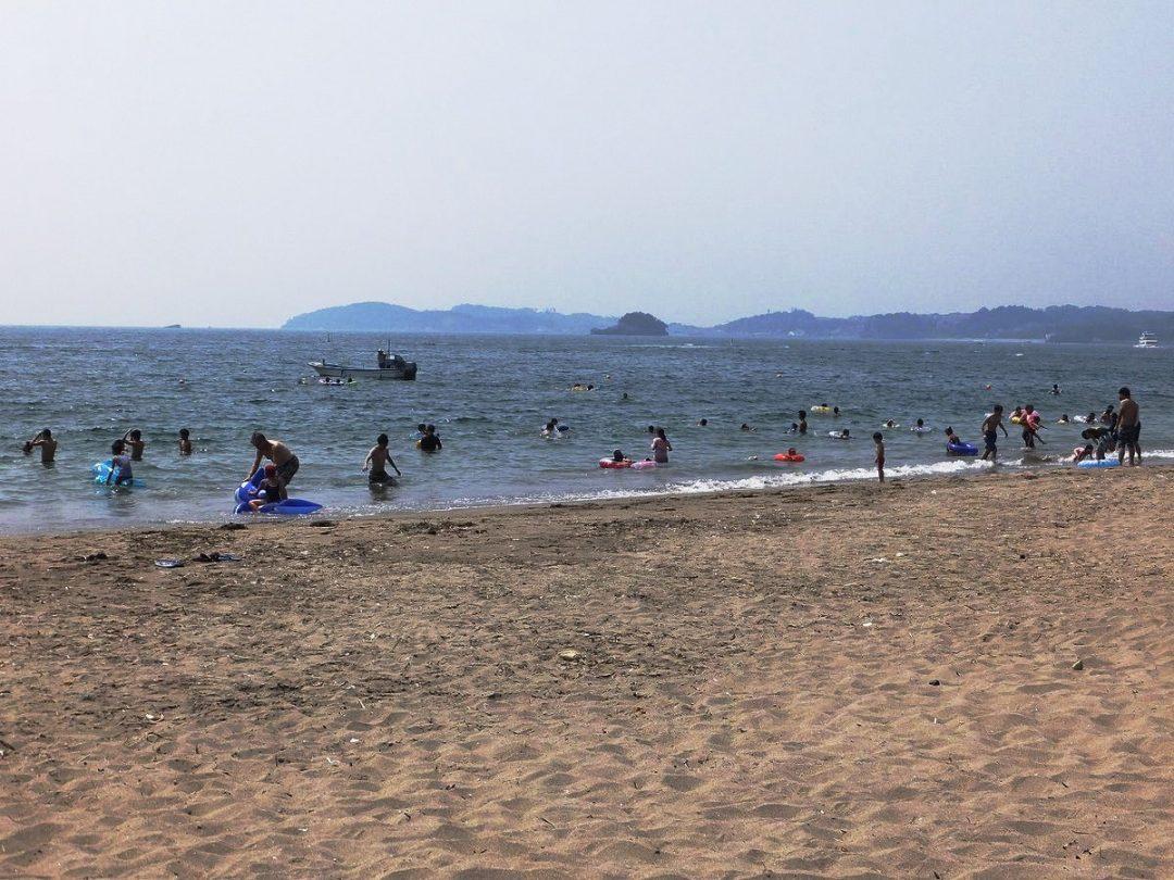 浦戸桂島海水浴場(塩竈市)