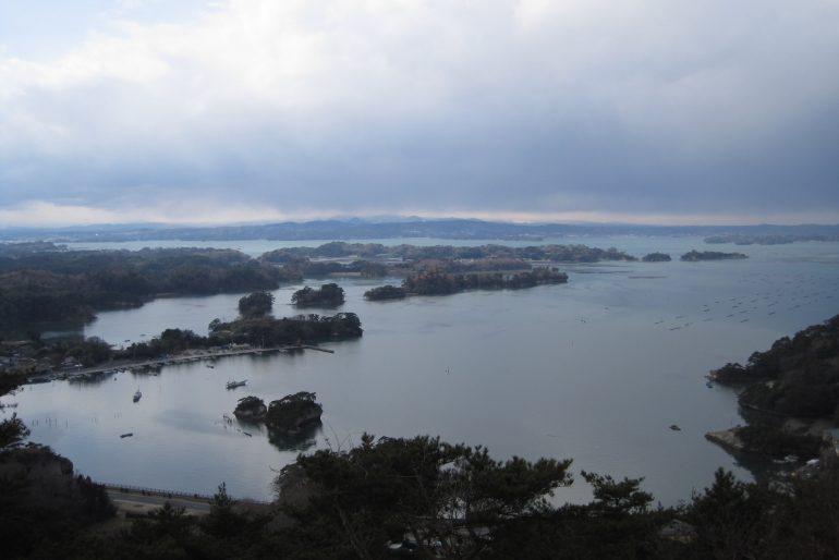 松島四大観「壮観」大高森からの眺望