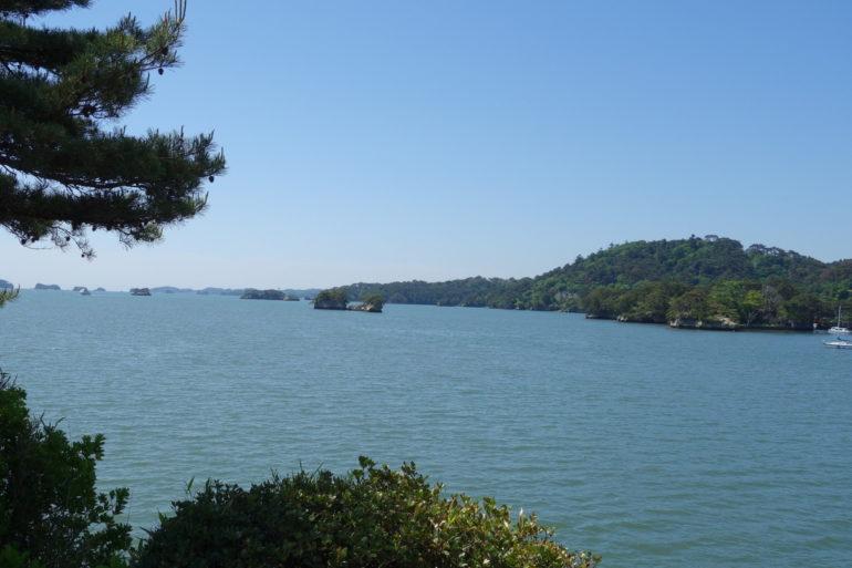 五大堂から見た松島湾