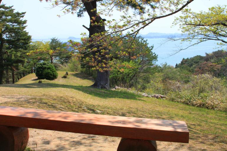 中庭からの眺望