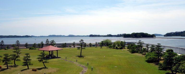 パレス松洲2階から見た松島
