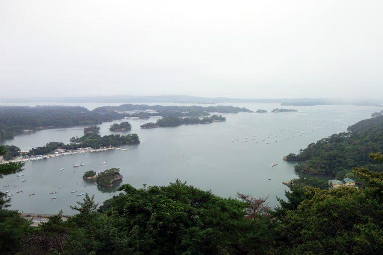 大高森展望台からの眺望