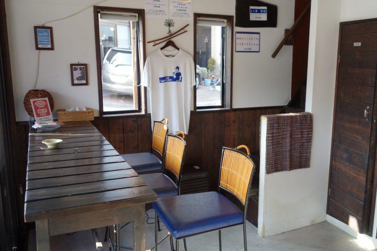 1階 飲食スペース
