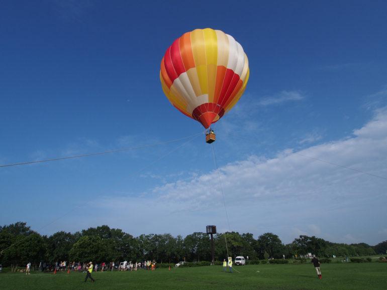 熱気球体験搭乗会
