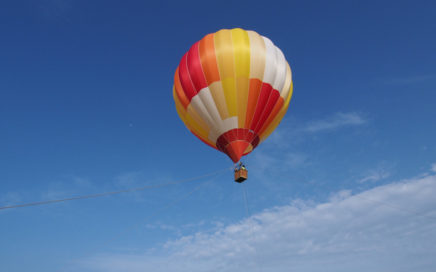 松島熱気球体験搭乗会