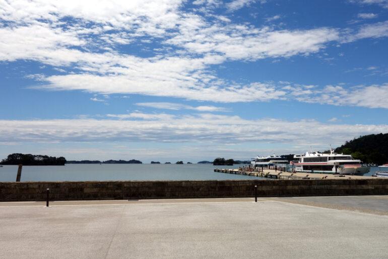 松島中央広場からの眺望
